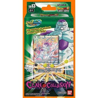 Dragon Ball Super TCG Rise of the Unison Warriors: Clan Collusion Starter Deck