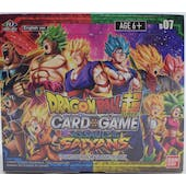 Dragon Ball Super TCG Assault of the Saiyans Booster Box