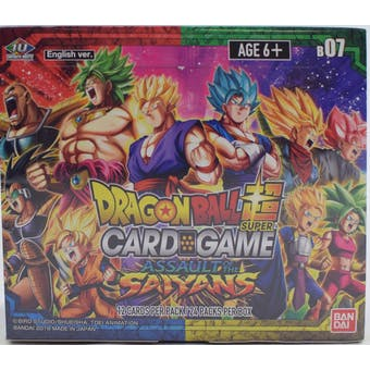 Dragon Ball Super TCG Assault of the Saiyans Booster Box