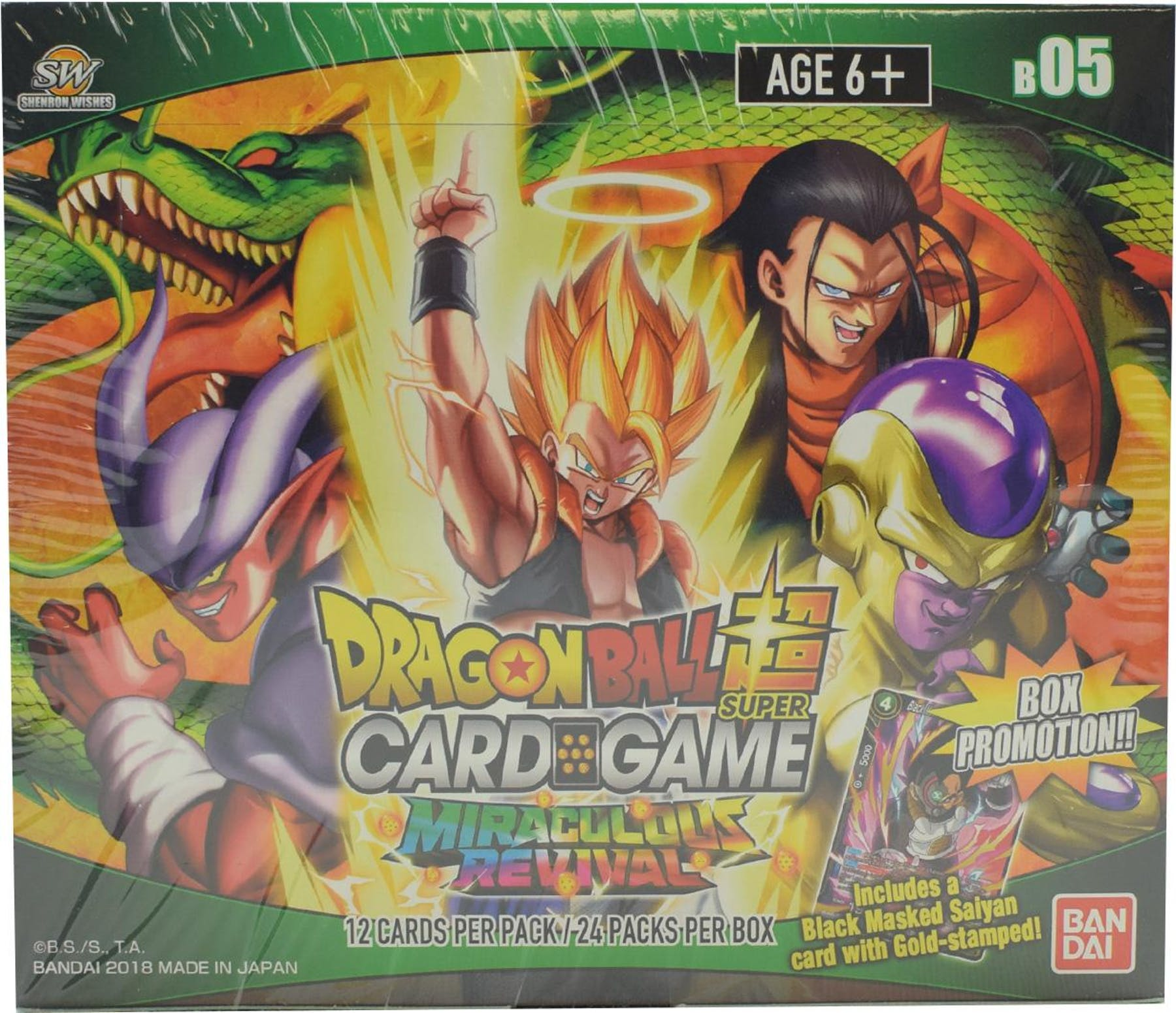 22+ Dragon Ball Super Card Game Booster Box  Background