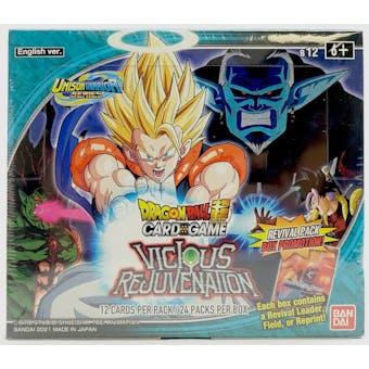 Dragon Ball Super TCG Unison Warrior Series 3 Vicious Rejuvenation Booster Box