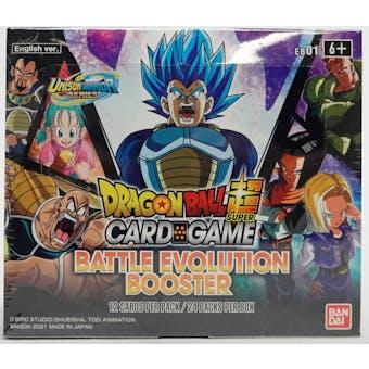 Dragon Ball Super TCG Battle Evolution Booster Box