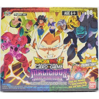 Dragon Ball Super TCG Malicious Machinations Booster 12-Box Case