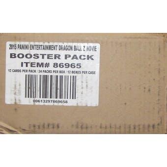 Panini Dragon Ball Z: Movie Collection Booster 12-Box Case