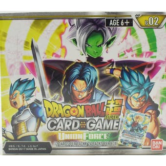 Dragon Ball Super TCG Union Force Booster Box