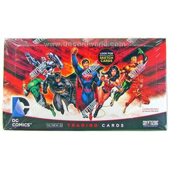DC Comics: The New 52 Trading Cards Box (Cryptozoic 2012)