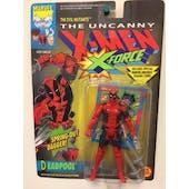 Toy Biz 1992 X-Men X-Force Deadpool 1st Figure MOC Collector's Item