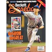 2021 Beckett Baseball Monthly Price Guide (#186 September) (Jacob DeGrom)