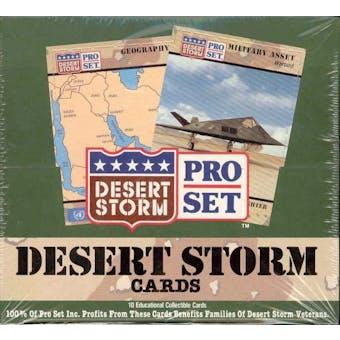 Desert Storm 1991 Hobby Box (Pro Set)