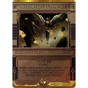 Magic the Gathering Amonkhet Invocation Single Desolation Angel FOIL - NEAR MINT (NM)