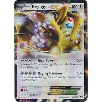 Pokemon Next Destinies Single Regigigas EX 82/99