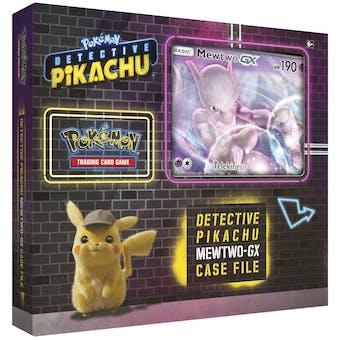 Pokemon Detective Pikachu Mewtwo-GX Box
