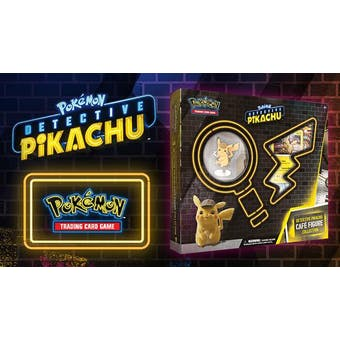 Pokemon Detective Pikachu - On the Case Figure Collection 12-Box Case