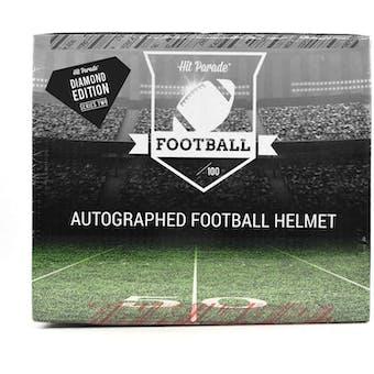 2021 Hit Parade Autographed FS Football Helmet DIAMOND Edition Hobby Box - Series 2 - Unitas & Manning!!!
