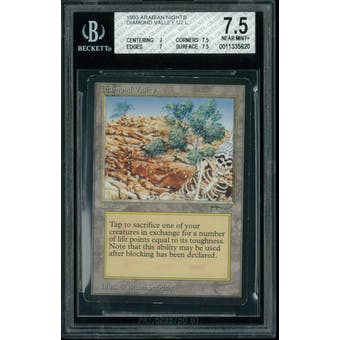 Magic the Gathering Arabian Nights Diamond Valley BGS 7.5 (9, 7.5, 7, 7.5)