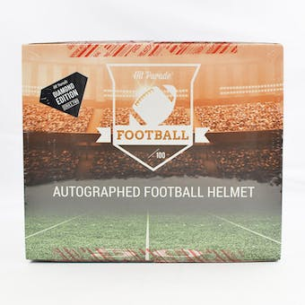 2019 Hit Parade Autographed FS Football Helmet Diamond Edition Hobby Box - Series 2 - Brady & P. Manning!!!