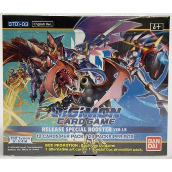 Digimon Release Special Booster Version 1.5 Booster Box