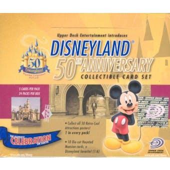Disneyland 50th Anniversary Hobby Box (2005 Upper Deck)