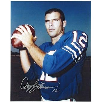 Daryle Lamonica Autographed Buffalo Bills Color 8x10 Football Photo