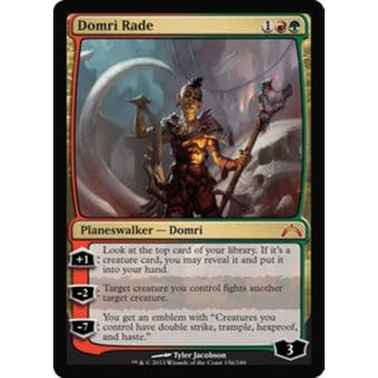 Magic the Gathering Gatecrash Single Domri Rade Foil - NEAR MINT (NM)