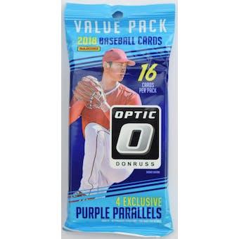 2018 Panini Donruss Optic Baseball Jumbo Fat Pack