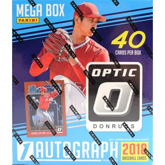 2018 Panini Donruss Optic Baseball Mega 40ct Box