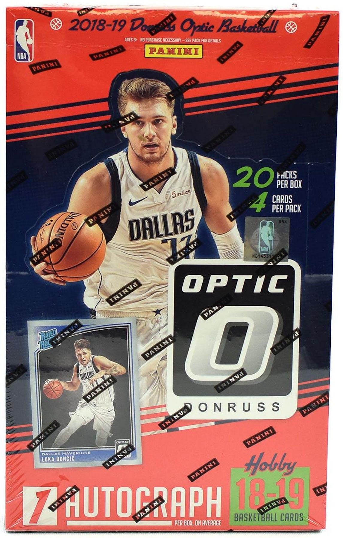 201819 Panini Donruss Optic Basketball Hobby Box Da Card World