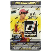 2019 Panini Donruss Racing Hobby Box