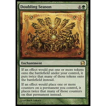 Magic the Gathering Modern Masters Single Doubling Season FOIL - NEAR MINT (NM)