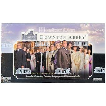 Downton Abbey Seasons 1 & 2 Trading Cards Box (Cryptozoic 2013)