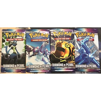 Pokemon Diamond & Pearl Base Set Booster Pack ART SET - UNSEARCHED UNWEIGHED