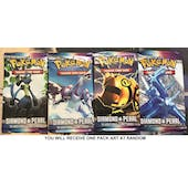 Pokemon Diamond & Pearl Base Set SINGLE Booster Pack UNSEARCHED UNWEIGHED