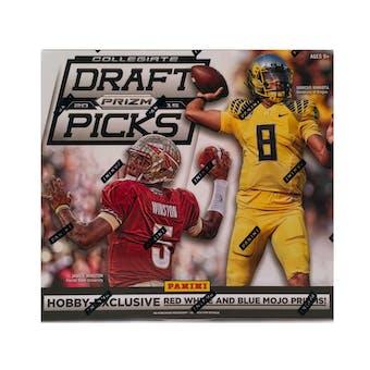 2015 Panini Prizm Collegiate Draft Picks Football Hobby Box