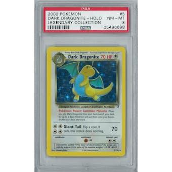 Pokemon Legendary Collection Dark Dragonite 5/110 PSA 8