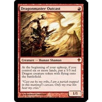 Magic the Gathering Worldwake Single Dragonmaster Outcast Foil