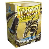 Dragon Shield Card Sleeves - Gold (100)