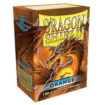 Dragon Shield Card Sleeves - Orange (100)
