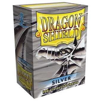 Dragon Shield Card Sleeves - Silver (100)