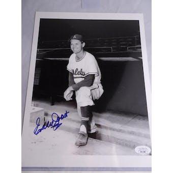 Eddie Joost Philadelphia Athletics Autographed Baseball Photo JSA #HH11586 (Reed Buy)