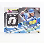 2019 Panini Donruss Optic Baseball 12-Pack Mega Box