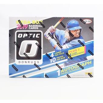 2019 Panini Donruss Optic Baseball 12-Pack Mega Box