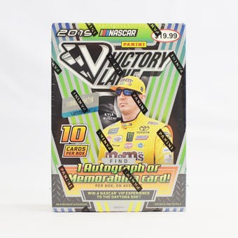 2019 Panini Victory Lane Racing Blaster Box (Lot of 5)