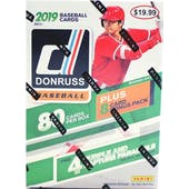2019 Panini Donruss Baseball 11-Pack Blaster Box (Lot of 3)