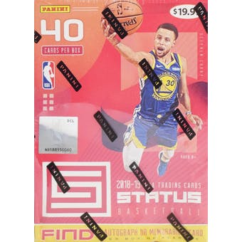2018/19 Panini Status Basketball 8-Pack Blaster Box (Red)