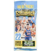 2018/19 Panini Contenders Basketball Jumbo Fat Pack (Lot of 12)