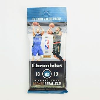2018/19 Panini Chronicles Basketball Jumbo Fat Pack