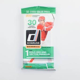 2019 Panini Donruss Baseball Jumbo Fat Pack (Lot of 12)