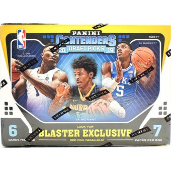 2019/20 Panini Contenders Draft Basketball 7-Pack Blaster Box