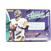 2019 Panini Absolute Football 8-Pack Blaster Box
