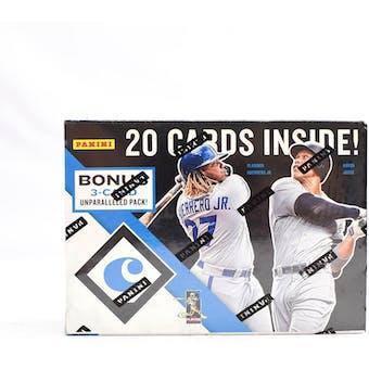 2019 Panini Chronicles Baseball 4-Pack Blaster Box
